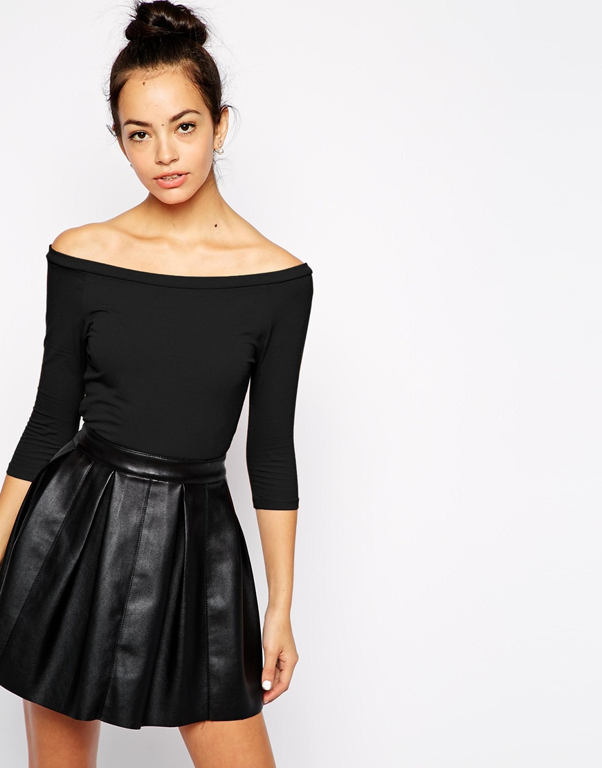 New Look Bardot Top at asos.com