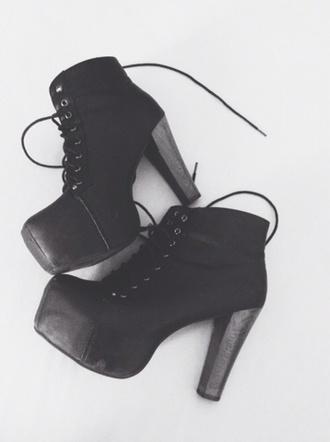 shoes black combat heels combat heels black heels combat boots