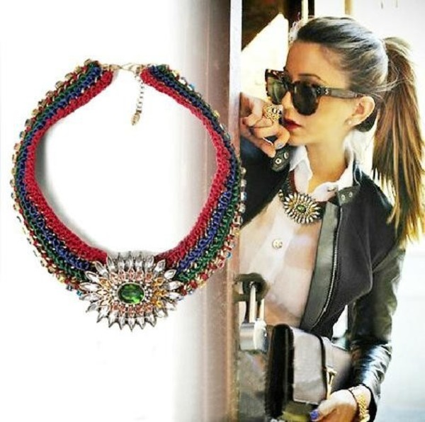 jewels zara necklace shourouk statement necklace aliexpress