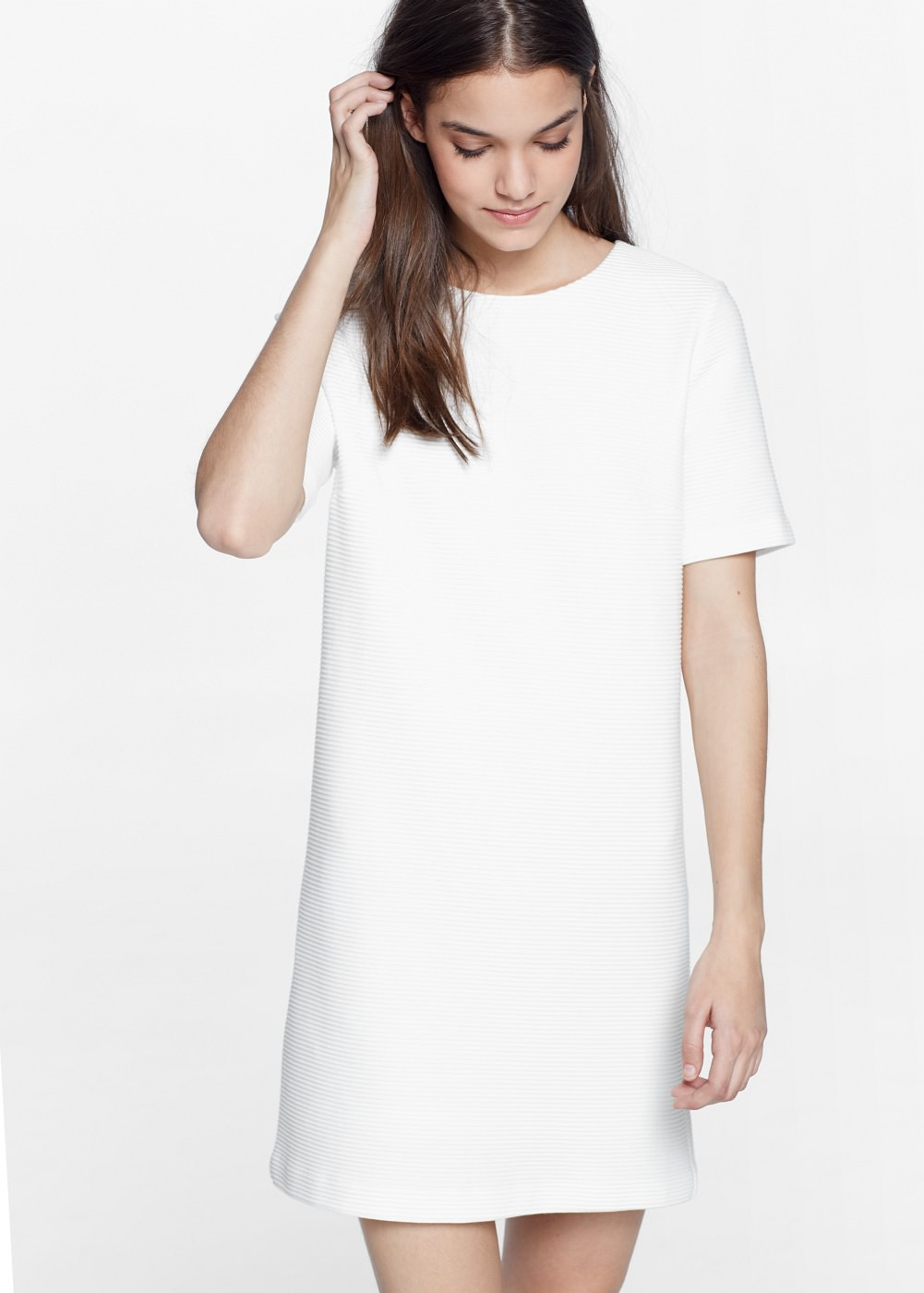 Robe blanc mango 2018
