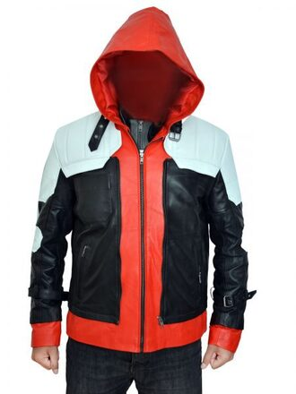 jacket leather vest menswear batmanarkhamknight fashion moviejacket fashion week 2017