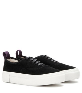 suede sneakers sneakers suede black shoes