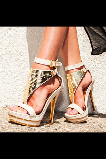shoes gold neutral heels gold heels