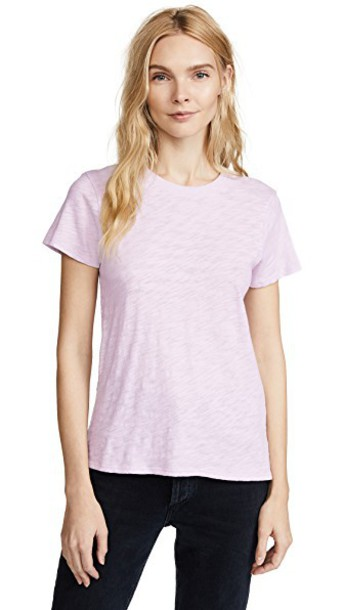 ATM Anthony Thomas Melillo short lavender top