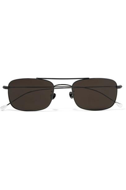 ANN DEMEULEMEESTER sunglasses black
