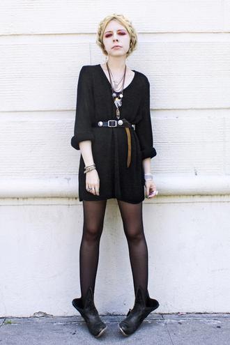 black dress dress jean greige