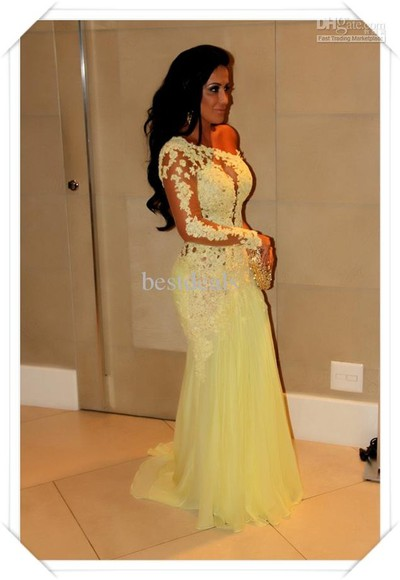 dress prom dress one shoulder long sleeve evening dresses as635