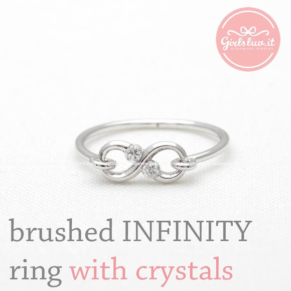jewels jewelry ring infinity ring infinite ring anniversary ring eternity ring girlsfriend gift engagement ring forever