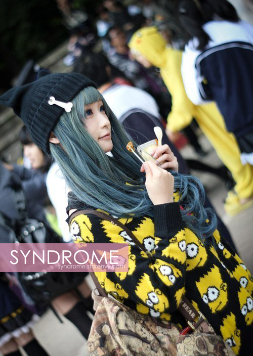 Bart simpson sweater from syndrome on storenvy