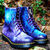 Gothic Galaxy Cosmic Print Dr Marten Boots. Hand-painted. Space nebula print. on Wanelo
