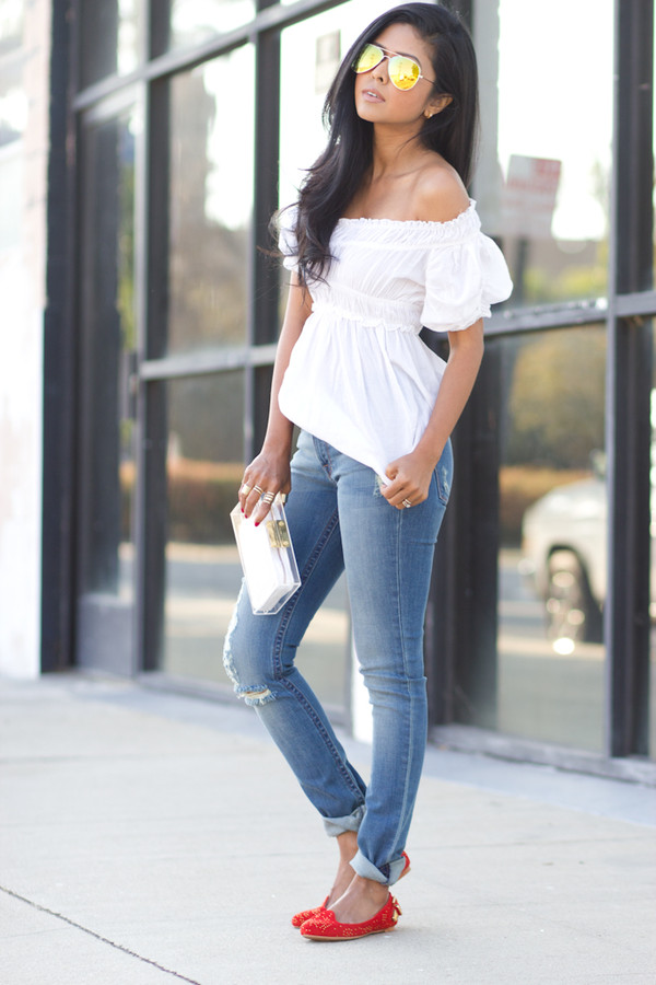 Image result for jeans t-shirt women