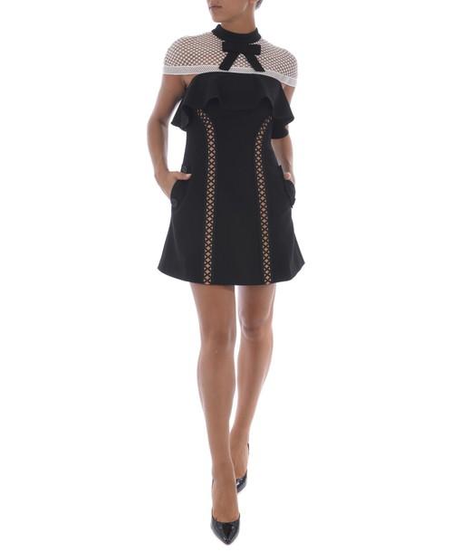 self-portrait dress mini dress mini mesh