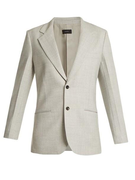 Joseph blazer light grey jacket
