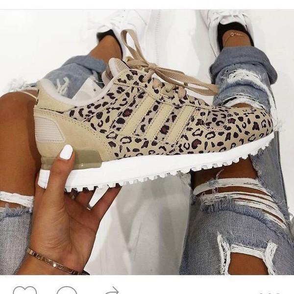 best sneakers c2df7 8f66e discount adidas zx 700 leopard beige fec52 50c99