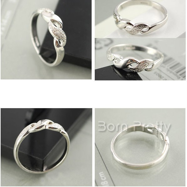 $1.98 5pcs Ring Fashion Metal Punk Style Knuckle Ring Tail Ring - BornPrettyStore.com