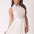 Dresses : Eve White Studded Collar Dress - size 10