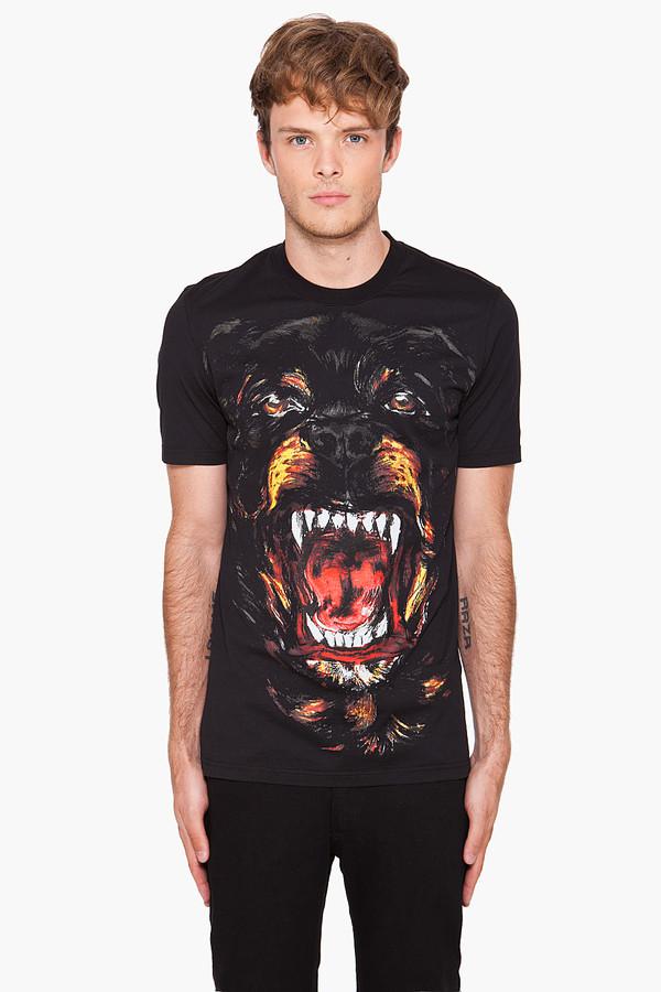t-shirt tumblr black menswear mens t-shirt dog