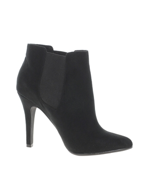 New Look | New Look Bella Pointed Black Chelsea Ankle Boots at ASOS