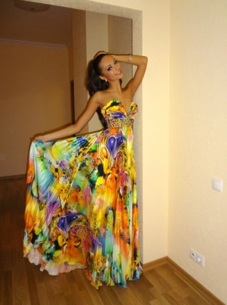 Dress Beautiful Long Formal Gown Floor Length