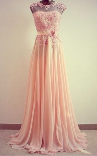 dress peach sweetheart neckline prom dress removeable collar