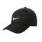 Nike golf dri-fit black swoosh front cap