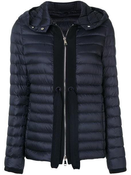 moncler jacket women cotton blue