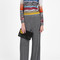 Missoni women`s multi lam scoop neck top