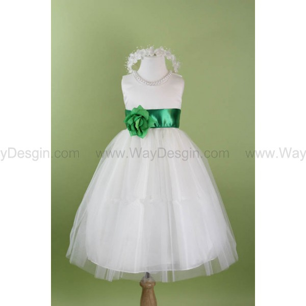 flower girl dress dress floral dress white dress