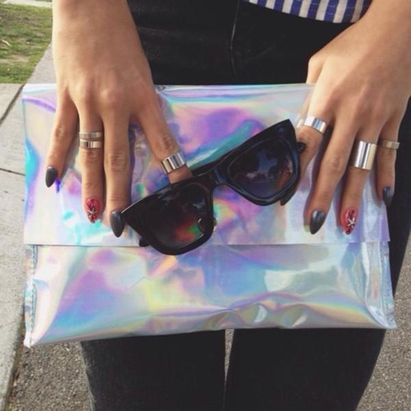 sunglasses bag jewels