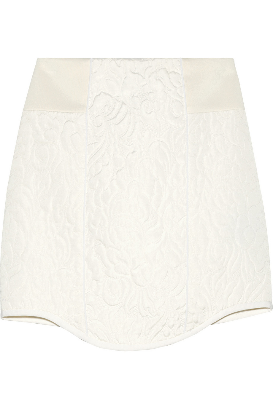 Katrin paneled matelassé mini skirt | Tibi | 60% off | THE OUTNET