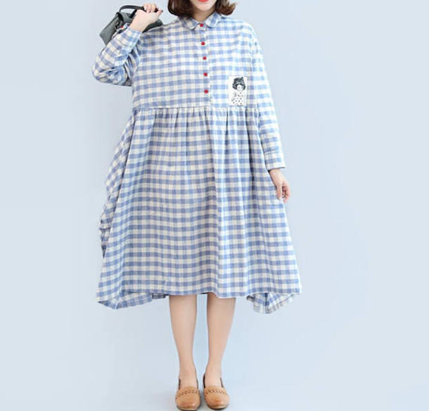 dress long doll dress