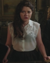 once upon a time show,shirt,embroidered shirt,emilie de ravin