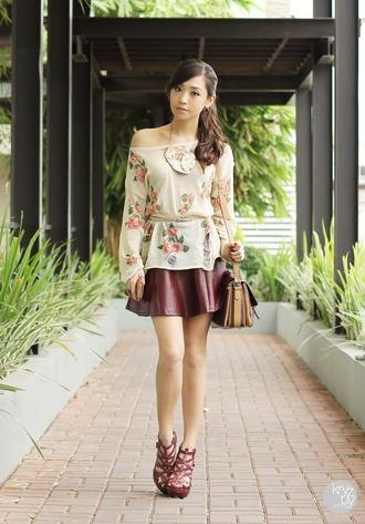 kryzuy sweater skirt belt bag jewels shoes