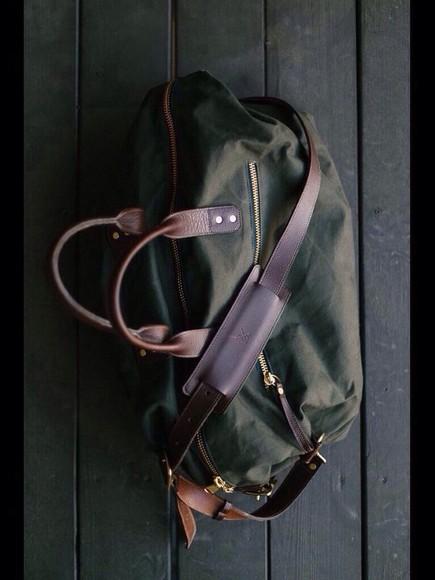 bag menswear khaki