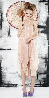 Eve flutter slip dress$440
