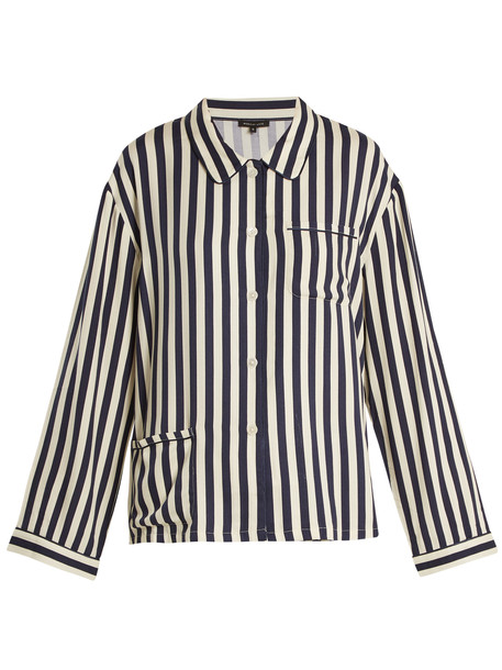 MORGAN LANE shirt navy top