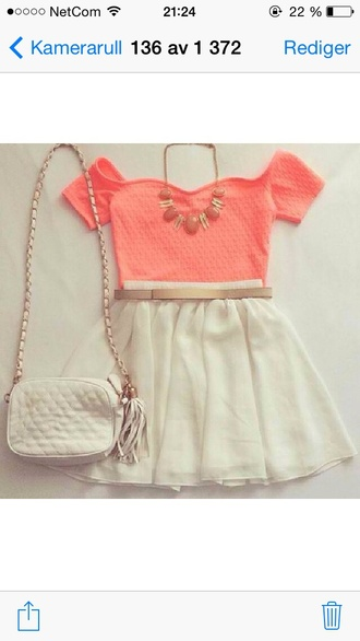 dress amazing neklas skirt topp tank top wow style outfit girly girl cute skirts cute