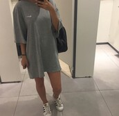 t-shirt,nike,grey,colorful,blank,classic,dress,long,boy,menswear,male shirt,chic,cool,instachic,style,fashion,instagram