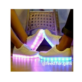 shoes white blue pink light gymps glow
