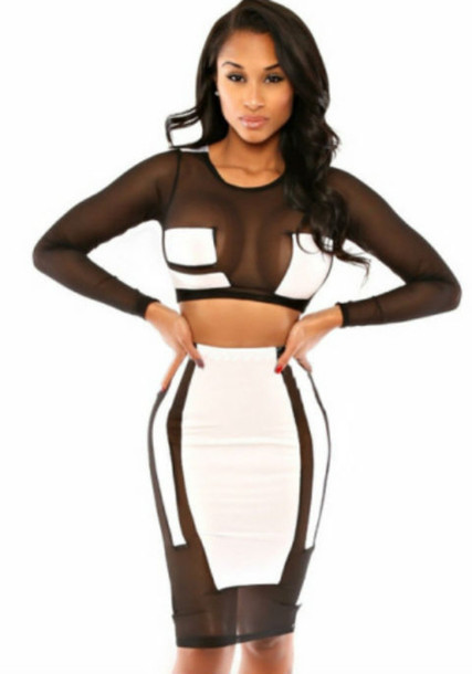 dress two piece dress set