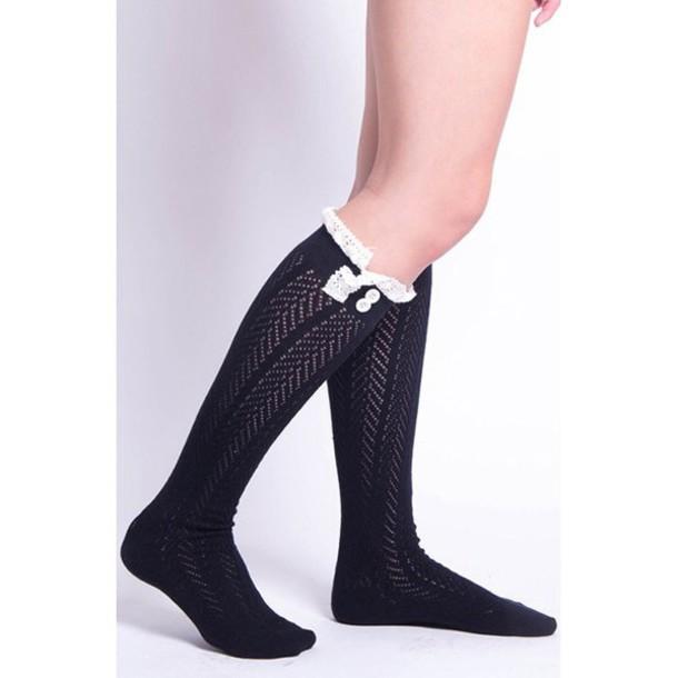 socks lace socks