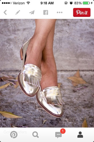 shoes gold shoes style fashion