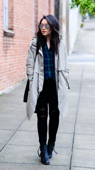 the fancy pants report blogger shirt jeans shoes sunglasses bag