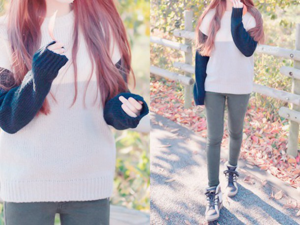 sweater kfashion korean fashion asian asian fashion