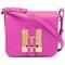 Sophie hulme small 'darwin' shoulder bag, women's, pink/purple