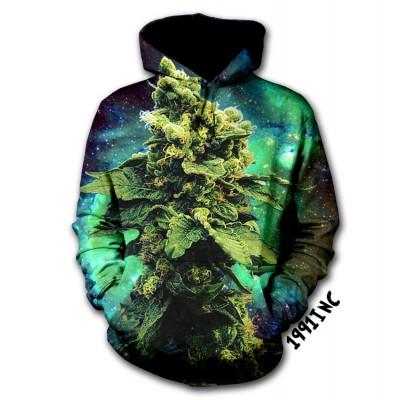 Weed galaxy hoodie