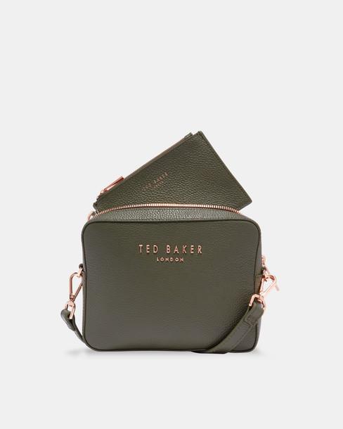 Ted Baker bag leather khaki