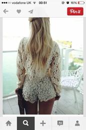 shorts,lacey shorts,white