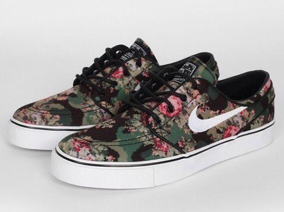 Digi Floral Janoski Size 7 5 Jordan 1 PCL Nike | eBay