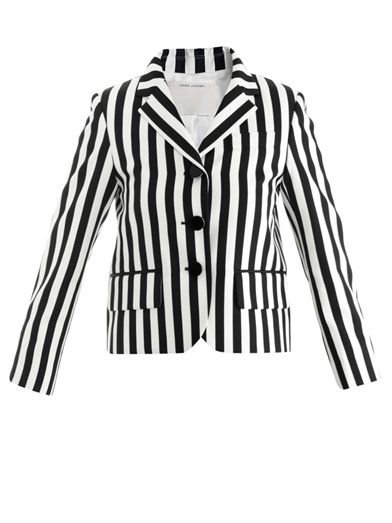 Stripe techno-twill jacket | Marc Jacobs | MATCHESFASHION.COM